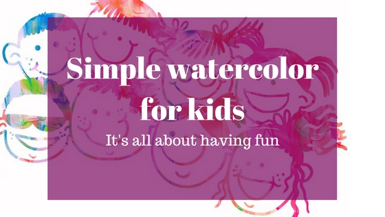 How to teach watercolor to kids?