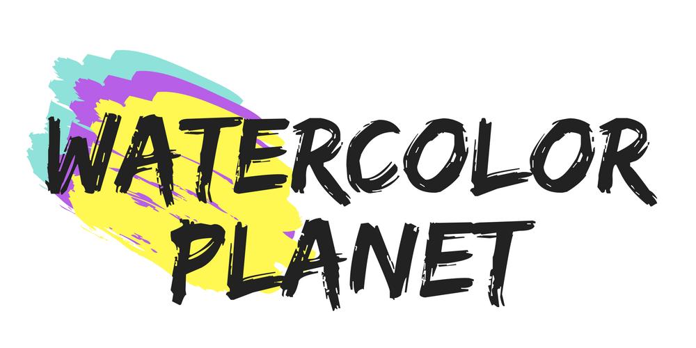 Watercolor Planet